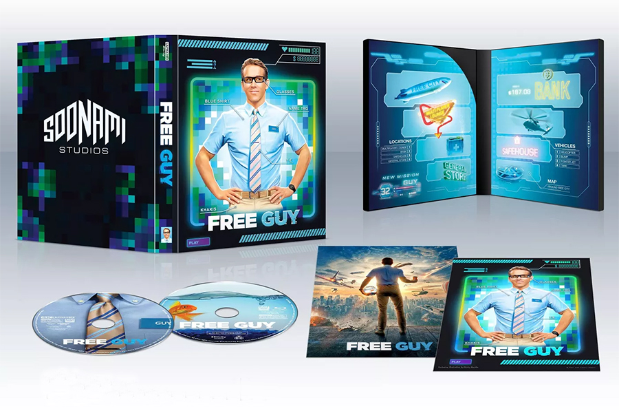 Merchandising: Phoning in 'Free Guy' Exclusives