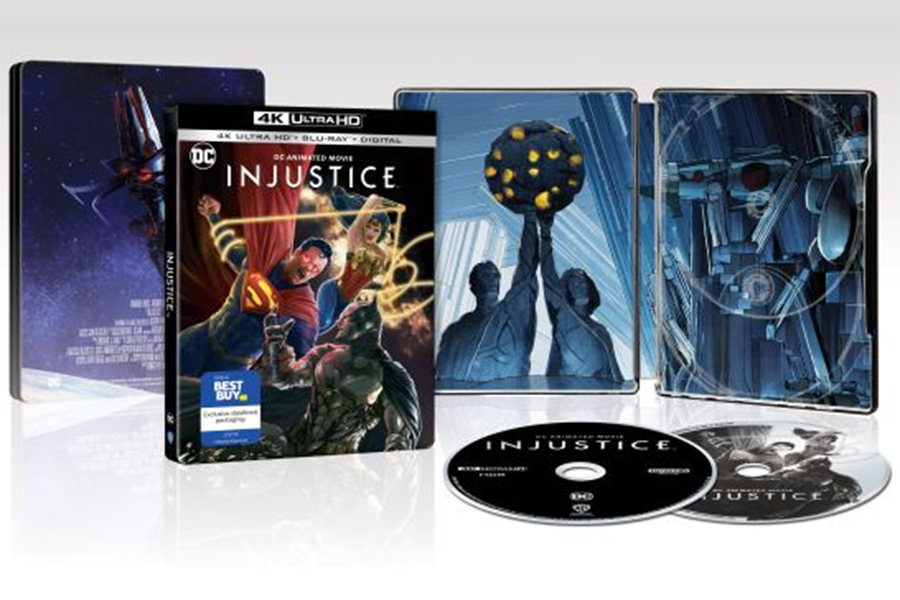 Merchandising: New Exclusives for 'Injustice' and a Slew of Steelbooks