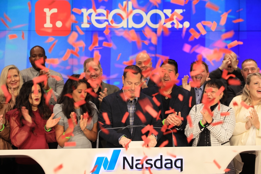With Ringing of the Bell, Redbox Officially a Public Company
