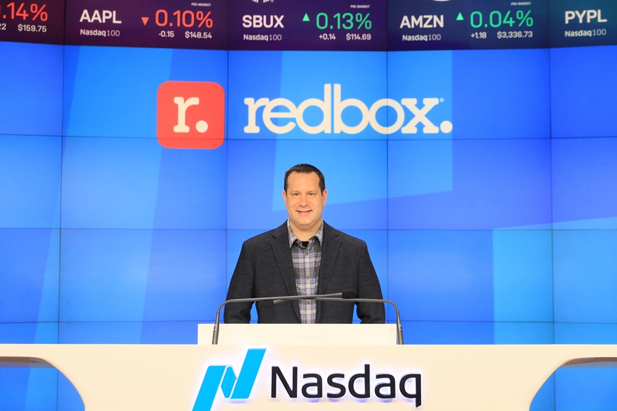 Redbox Stock on Wild Run Day After Going Public