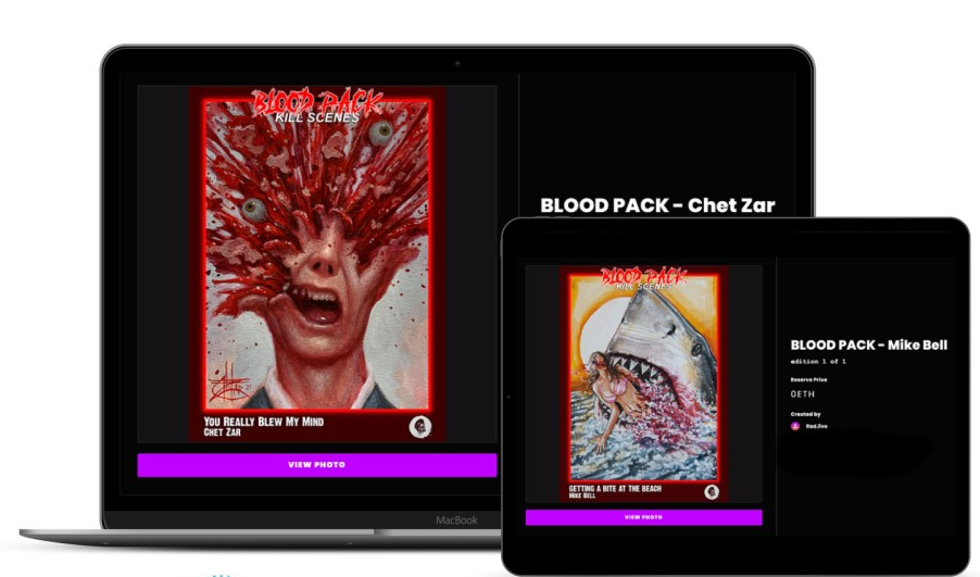 Cinedigm Selling Horror-Based 'Bloody Disgusting' NFT Trading Cards